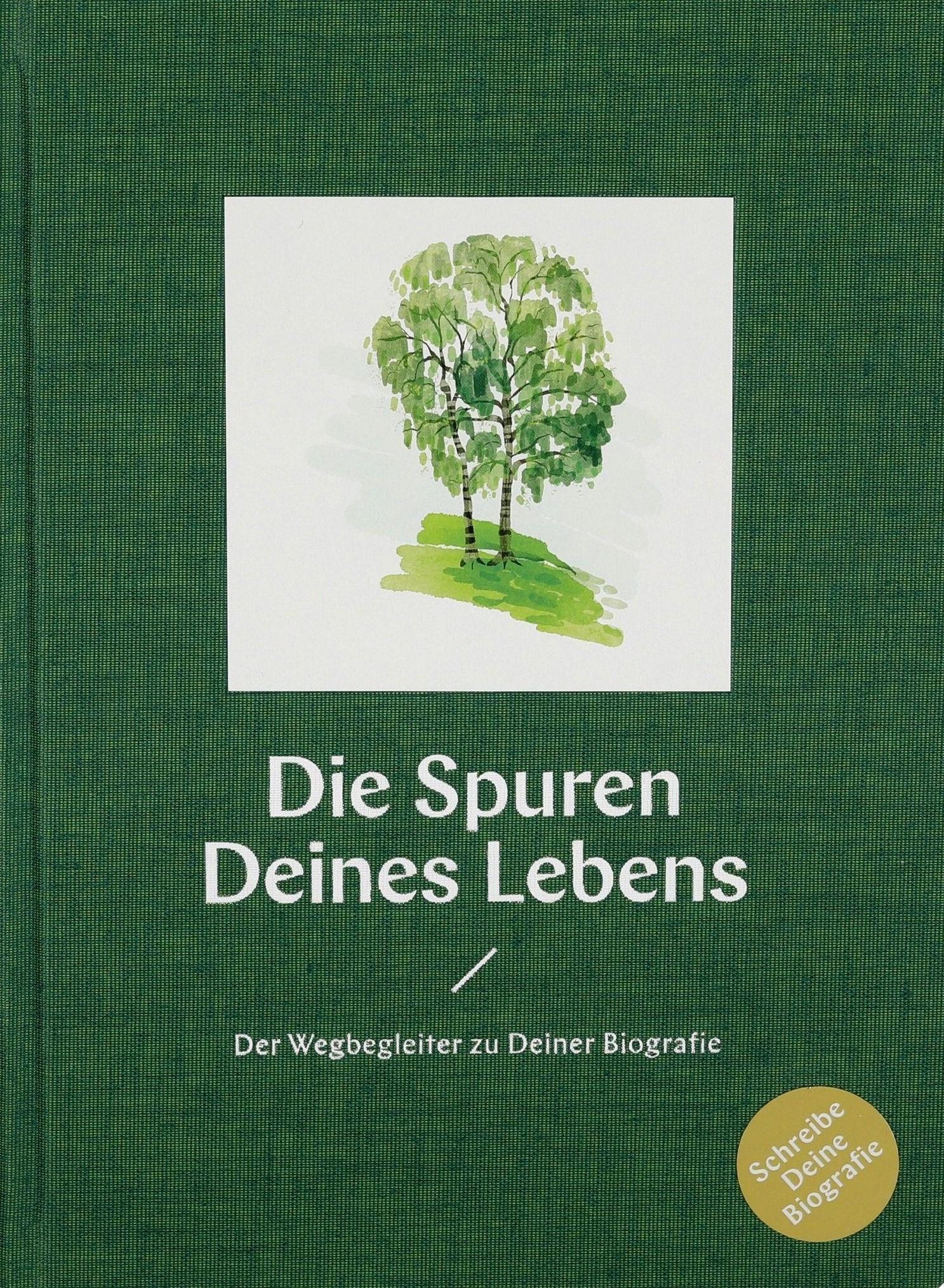 "Cover ""Die Spuren Deines Lebens"""