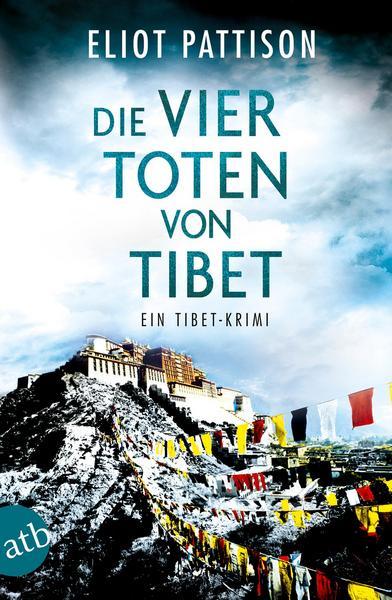 """Cover """"Die vier toten von Tibet"""""""