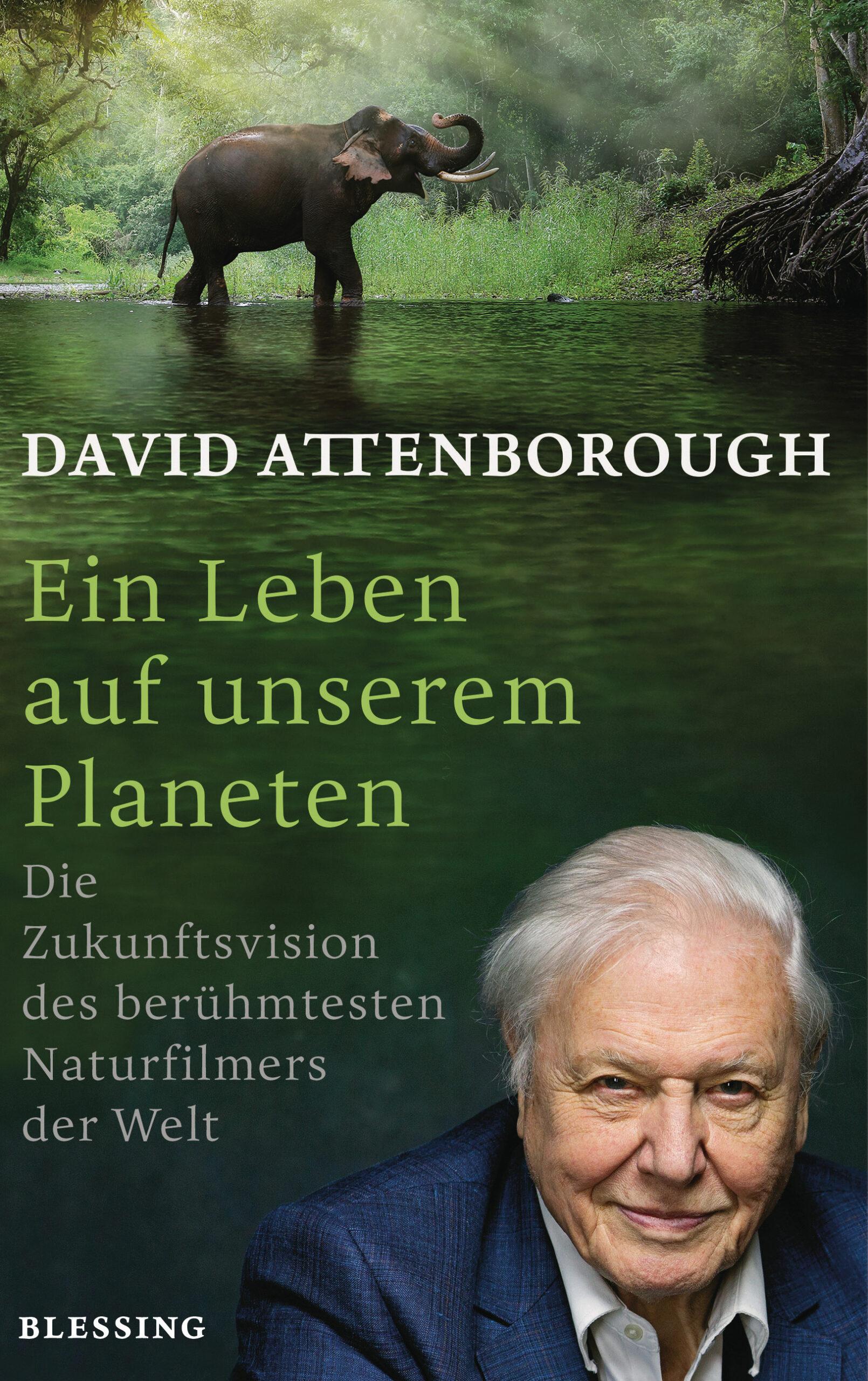 """Cover """"Ein Leben auf unserem Planeten"""""""